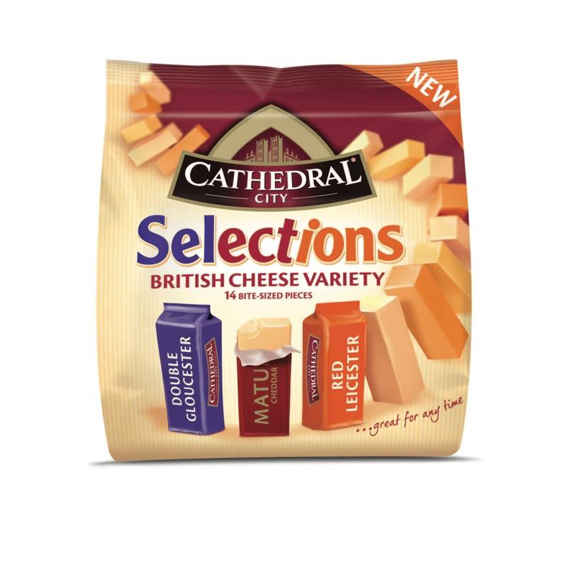 Cathedral City Selections British Cheese Variety pack