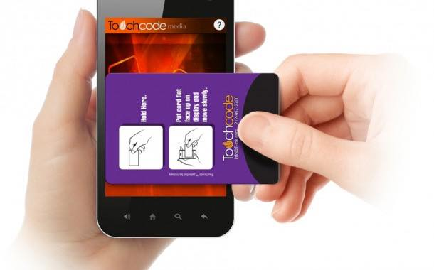 TouchCode technology extended for use directly on-pack