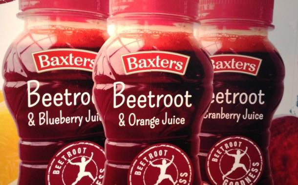 Baxters launches beetroot juice at Lunch 2014