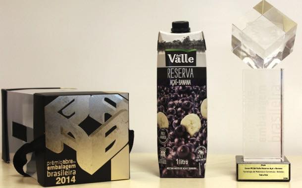 Coca-Cola Del Valle Reserva juice wins packaging prize at 2014 ABRE Awards