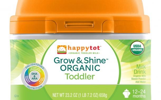 Happy Family introduces Happy Tot Grow & Shine Organic Toddler Milk