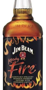 Jim Beam Kentucky Fire cinnamon-infused bourbon