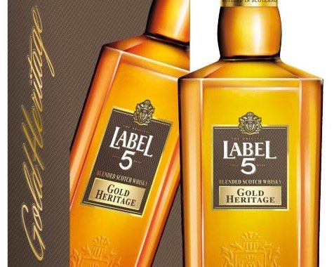 Label 5 Gold Heritage Blended Scotch Whisky