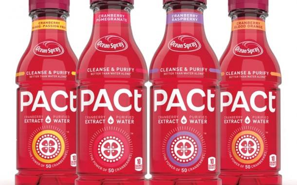 Ocean Spray reveals Pact Cranberry Extract & Purified Water