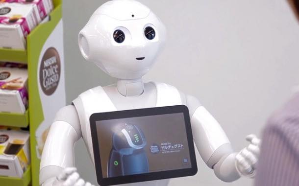 Pepper the robot to sell Nescafé machines in Japan