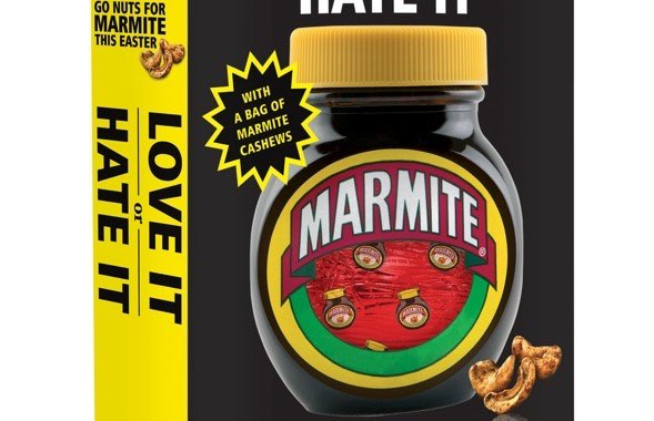 Marmite and Pot Noodle Easter Eggs from Unilever
