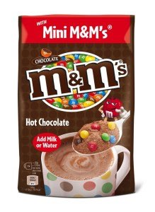 Mars introduces Maltesers and M&M's hot chocolate pouches
