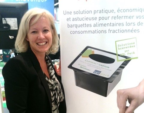 Myriam Bozzetto reveals the secrets of CGL Pack's patented Clipseal Carton
