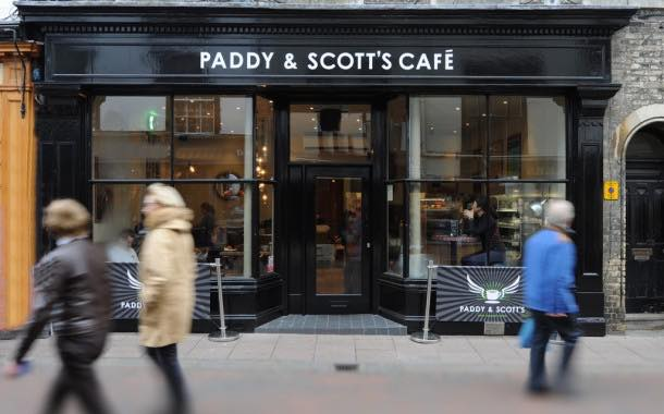 Paddy & Scott's reveals two high street cafes in Suffolk