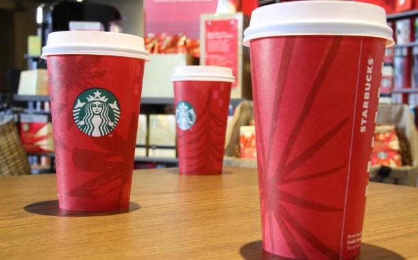 Starbucks re-releases iconic red cups