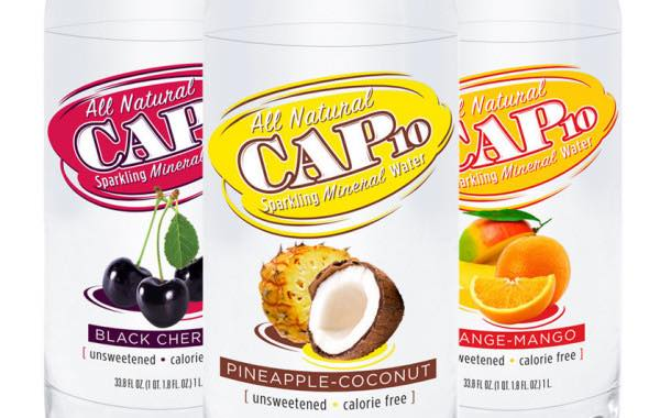 Absopure adds three all natural Cap10 sparkling mineral water flavours