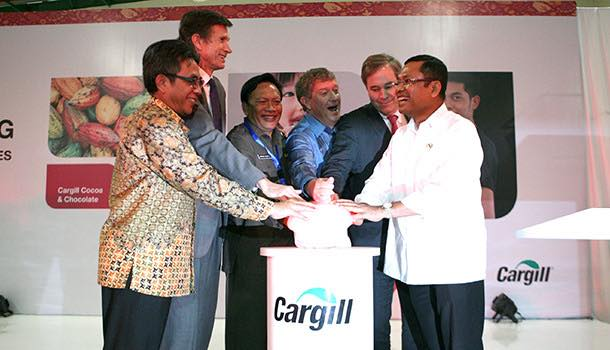 Cargill opens Indonesian cocoa processing facility to serve Asian market