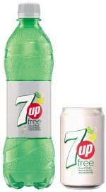 7up Free redesign and global campaign
