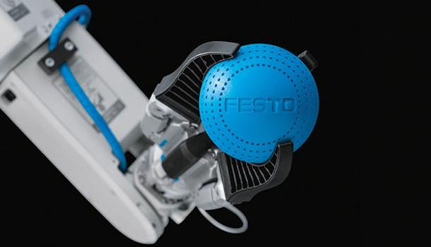 Festo MultiChoiceGripper; gripping based on the human hand