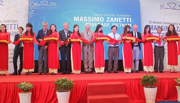 Massimo Zanetti Beverage inaugurates first coffee roasting plant in Vietnam