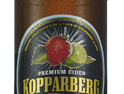 Kopparberg add alcohol free strawberry & lime cider