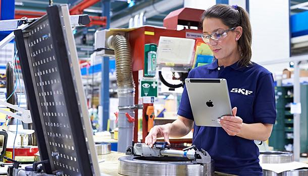 SKF invests in smart devices to improve services