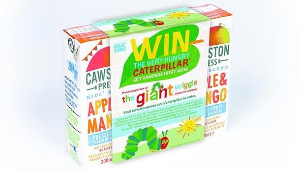 Cawston Press partners with The Very Hungry Caterpillar