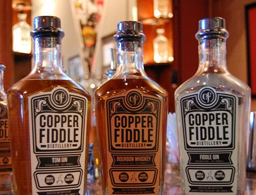 O-I Imperial bottle helps Copper Fiddle Distillery generate buzz