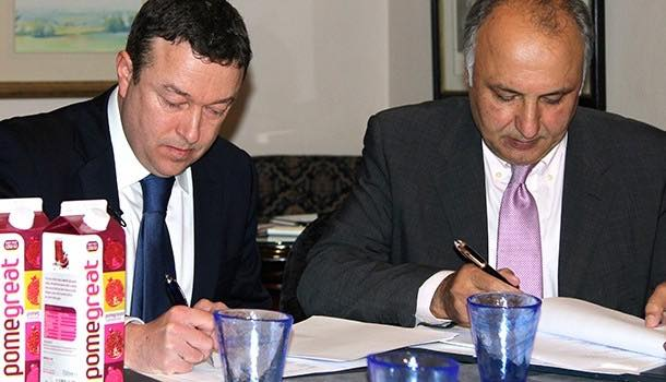 Afghan factory signs multi-million pound deal with UK juice company