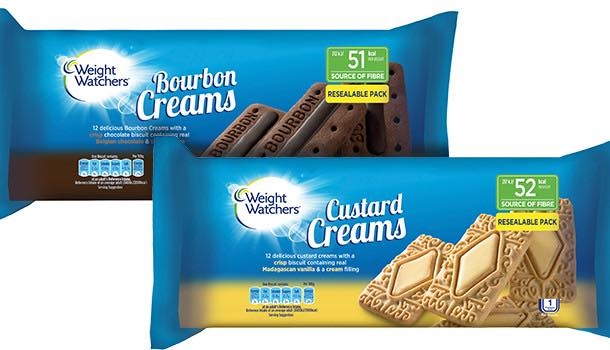 Weight Watchers UK launches new cream biscuit products