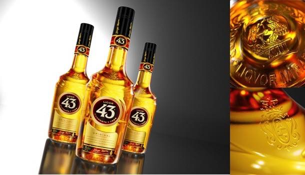 Licor 43 adopts bottle, label and branding redesign from Cartils