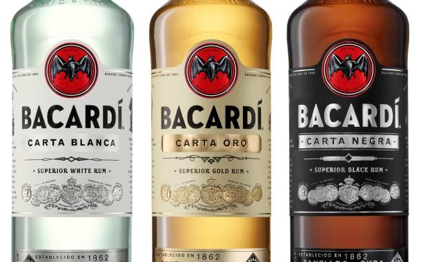 Bacardí rum unveils first packaging redesign for more than a decade