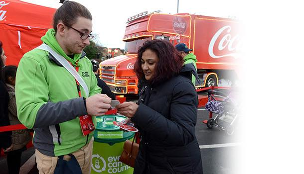 Coca-Cola Enterprises brings recycling element to iconic Christmas truck