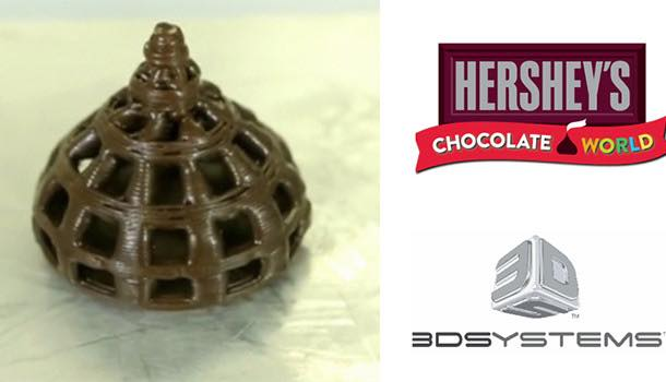 Hershey to launch first ever 3D printed chocolate exhibit