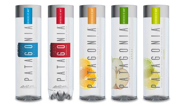 Patagonia showcases flavoured mineral water