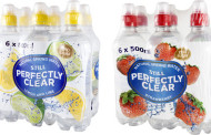 Perfectly Clear releases flavoured spring water in six-bottle multipacks