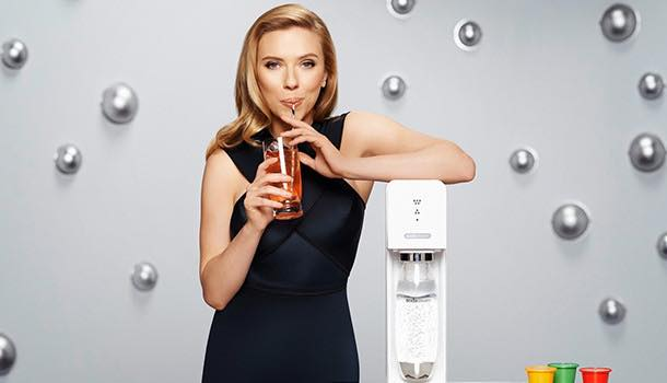 SodaStream encourages Americans to drink more water