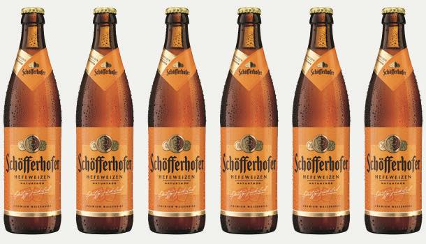 Schöfferhofer Hefeweizen wheat beer to be introduced to UK on-trade outlets