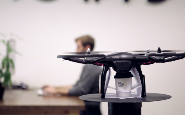 The Coffee Copter: coffee delivery by drone