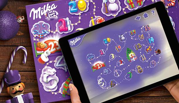 Taxi creates world's first augmented reality advent calendar for Milka