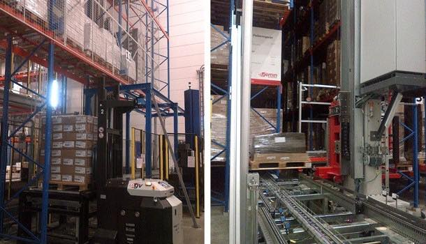 Egemin installs automated warehouse system for Belgian chocolate supplier