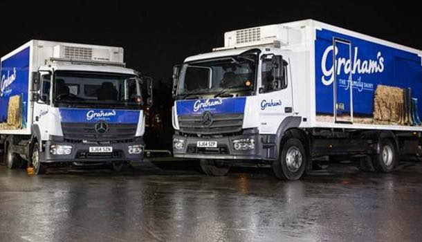 Transport case study: Graham's the Family Dairy picks Mercedes-Benz