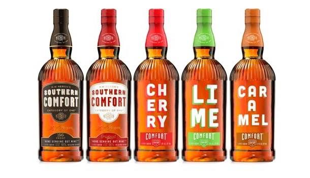 Southern Comfort accompanies new caramel flavour with pack redesign