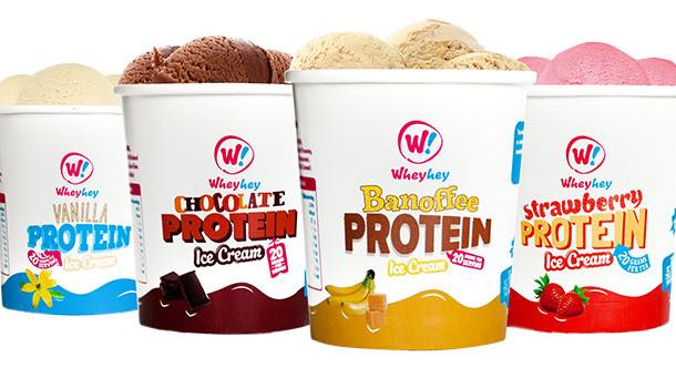 Wheyhey! protein ice cream launches new pack design