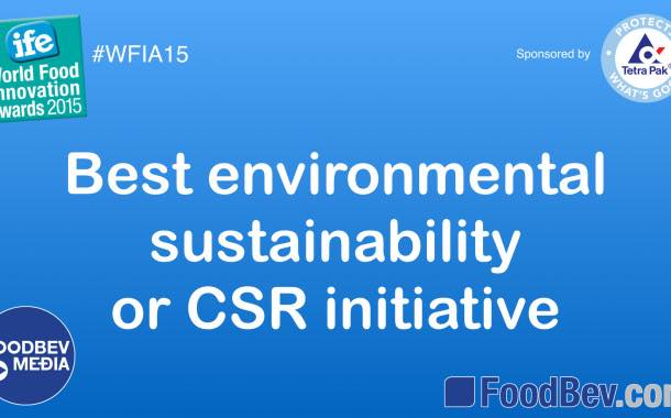 VIDEO: IFE World Food Innovation Awards – sustainability and CSR trends