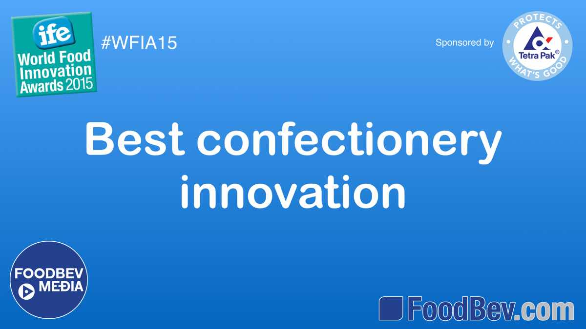 VIDEO: IFE World Food Innovation Awards – confectionery trends