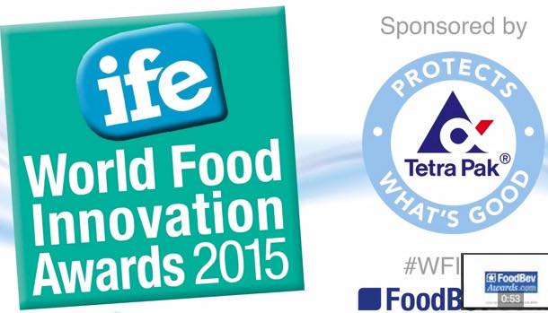VIDEO: Winners and Finalists of the 2015 World Food Innovation Awards