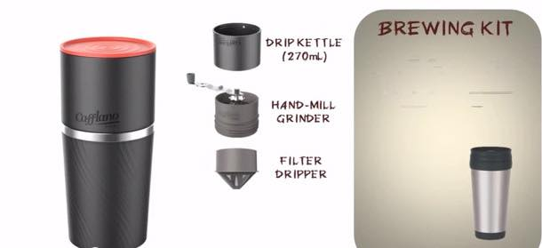 South Korean start-up launches 'all-in-one' coffee grinder, maker and cup