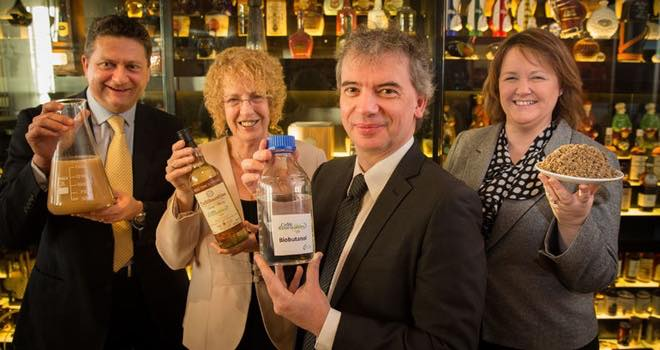 Manufacturer launches biofuel made from by-products of the whisky industry