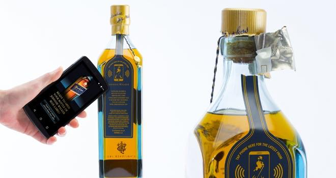 Diageo trials 'smart bottle' that knows when the drink is nearly gone