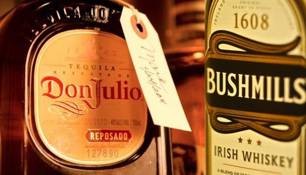 Diageo to swap Bushmills whiskey for Don Julio tequilla