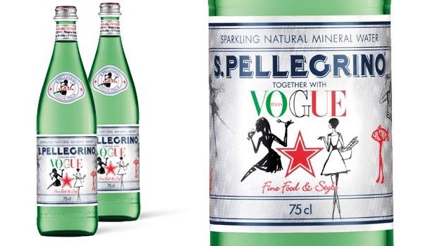 S.Pellegrino and Vogue Italia collaborate on limited edition bottle design
