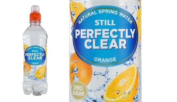 Flavoured water brand Perfectly Clear launches new orange flavour