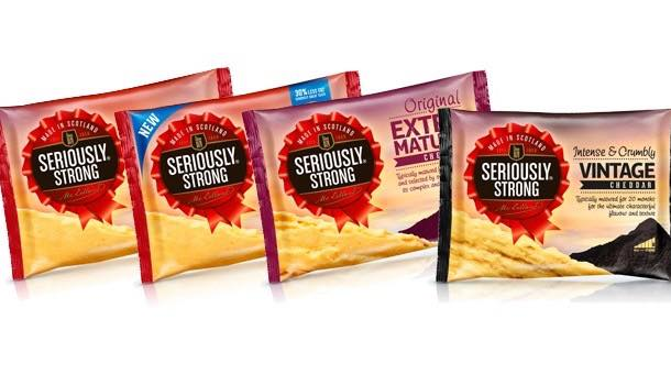 Seriously Strong invests £5m on new pack design and marketing campaign