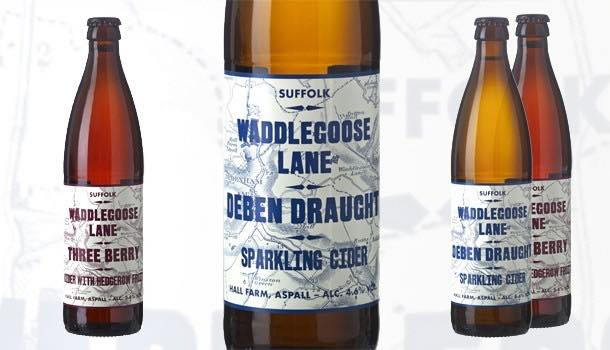 Waddlegoose Lane craft ciders introduced by Aspall